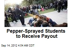 Pepper-Sprayed Students to Receive Payout