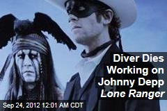 Diver Dies Working on Johnny Depp Lone Ranger