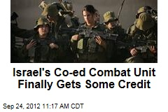 Israel's Co-ed Combat Unit Finally Gets Some Credit