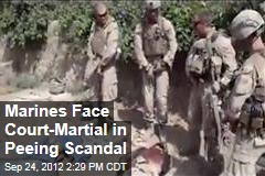 Marines Face Court-Martial in Peeing Scandal