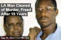 LA Man Cleared of Murder, Freed After 19 Years