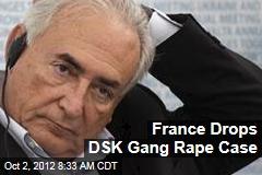 France Drops DSK Gang Rape Case
