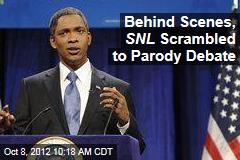 Behind Scenes, SNL Scrambled to Parody Debate