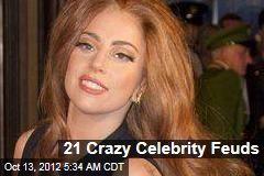 21 Crazy Celebrity Feuds