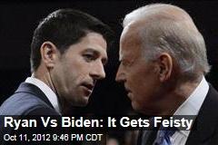 It's Biden Vs. Ryan