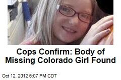 Cops Confirm: Missing Girl Is Jessica Ridgeway