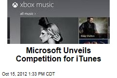 Microsoft Unveils Competition for iTunes