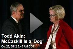 Todd Akin: McCaskill Is a 'Dog'