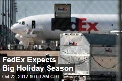 FedEx Expects Big Holiday Season
