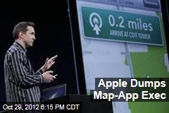 Apple Dumps Map-App Exec