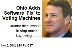 Ohio Adds Software 'Fix' to Voting Machines