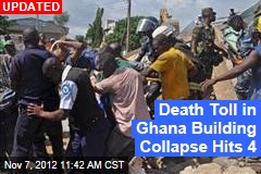 Dozens Trapped in Ghana Building Collapse
