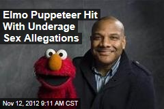 Elmo Puppeteer Hit With Underage Sex Allegations