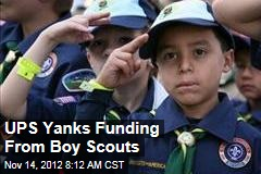 UPS Yanks Funding From Boy Scouts