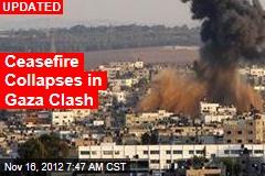 21 Dead in Gaza Clashes