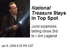 National Treasure Stays in Top Spot