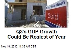 Q3's GDP Growth Could Be Rosiest of Year
