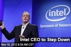 Intel CEO to Step Down