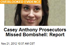 Casey Anthony Prosecutors Missed Bombshell: Report