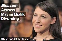 Blossom Actress Mayim Bialik Divorcing