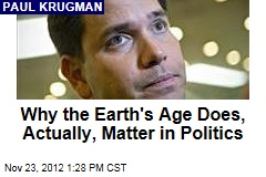 Why the Earth's Age Does, Actually, Matter in Politics