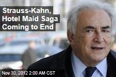 Strauss-Kahn to Settle With Hotel Maid