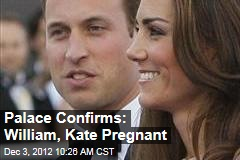 Palace Confirms: William, Kate Pregnant