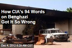 How CIA's 94 Words on Benghazi Got It So Wrong