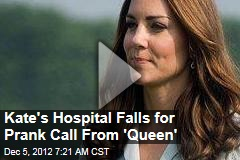 Hospital Falls for Prank Call From 'the Queen'