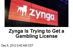 Zynga Is Trying to Get a Gambling License