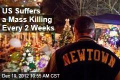 US Suffers a Mass Killing Every 2 Weeks