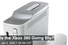Is the Xbox 360 Going Blu?