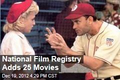 National Film Registry Adds 25 Films