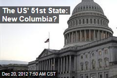 The US' 51st State: New Columbia?