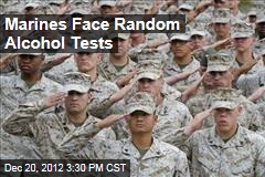 Marines Face Random Alcohol Tests