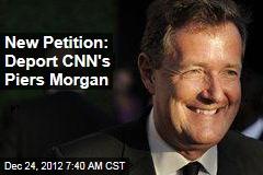 New Petition: Deport CNN's Piers Morgan