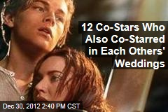 12 Co-Stars Who Also Co-Starred in Each Others' Weddings