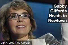 Gabby Giffords Heads to Newtown