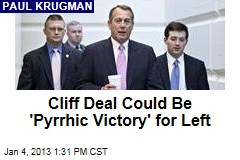 Cliff Deal Could Be 'Pyrrhic Victory' for Left