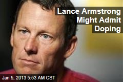 Lance Armstrong Might Admit Doping
