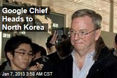 Richardson, Google Chief Fly to North Korea