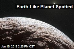 Earth-Like Planet Spotted
