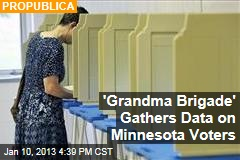 'Grandma Brigade' Gathers Data on Minnesota Voters