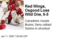 Red Wings, Osgood Lose Wild One, 6-5