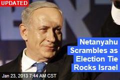 Israel Election in 'Stunning Deadlock'