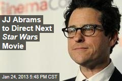 JJ Abrams to Direct Next Star Wars Movie