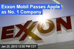 Exxon Mobil Passes Apple as No. 1 Company