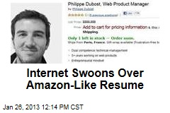 Internet Swoons Over Amazon-Like Resume