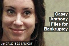 Casey Anthony Files for Bankruptcy