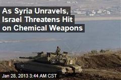 Israel Warns of Potential Syria Strike